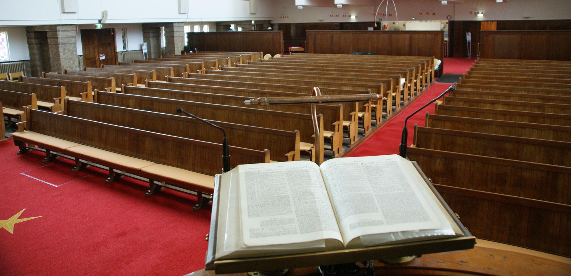 Kerkdiensten online bekijken